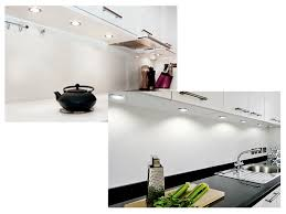 3er set runde led schrank küchen unterbau leuchte edelstahl gebürstet 12v 2w warm weiß d 65 mm inkl trafo und 6 fach verteiler