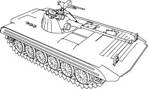 Apc Tank Coloring Page