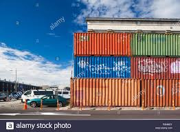 100 Cargo Container Buildings New Zealand South Island Christchurch Post2011 Earthquake