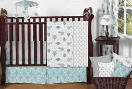 earth and sky baby bedding 11pc crib set by sweet jojo designs