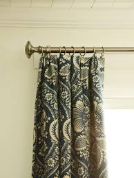 Curtains With Grommets Pattern by How To Sew Lined Drapery Panels Hgtv
