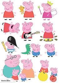 edible icing image peppa pig character sheet trade me