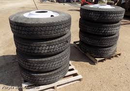 100 Kelly Truck Tires 8 Armorsteel 29575R225 Tires Item ER9000 SOLD