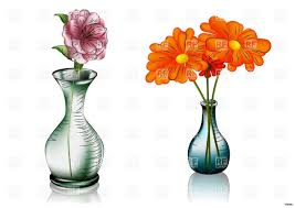 Will Clipart Colored Flower Vase Clip Arth Vases Flowers In A I 0d