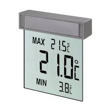 thermometre maxima minima exterieur vision thermomètre fenetre digital tfa acheter sur greenweez