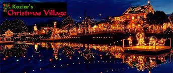 Christmas Tree Hill Shops Lancaster Pa by Koziar U0027s Christmas Village Events Lancasterpa Com
