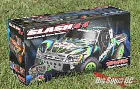 100 Slash Rc Truck Unboxing The Traxxas 4X4 Brushed XL5 RTR Big Squid RC RC