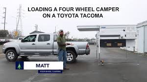 Four Wheel Pop-up Truck Camper Installation (Loading Unloading ... Build Your Own Camper Or Trailer Glenl Rv Plans Tacoma World Alaskan Campers Pickup Outfitters Of Waco Toyotacomawithanewmpertruckcap Inside Goose Gears Custom Outside Online Leentu Converts Toyota Into A Comfy Place To Camp The Lweight Ptop Truck Revolution Gearjunkie Bed Liners Tonneau Covers In San Antonio Tx Jesse At Overland Habitat Hicsumption Best Pop Up For A Expedition Portal Our Home On The Road Adventureamericas Half Shell Casual Turtle Adventurer Model 80rb