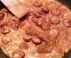 cuisiner des saucisses fum馥s rougail saucisses fumées recette de rougail saucisses fumées