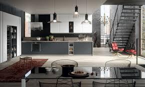 cuisine blanc et noir cuisine gris et noir stunning modele cuisine noir et blanc with