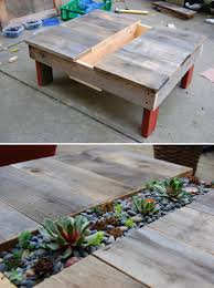 diy succulent table http faroutflora wordpress com 2011 02 04