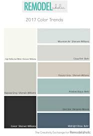 Popular Living Room Colors Sherwin Williams by Paint Color Trends For 2017 Remodelaholic Pick A Paint Color