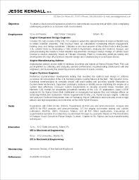 Resume Objectives General Objective Statement