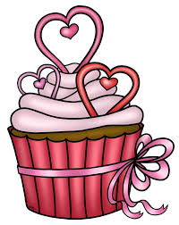 free hearts cupcake COLOR or uncolored