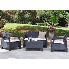 Keter Rattan Lounge Chairs by Best 25 Rattan Garden Furniture Sets Ideas On Pinterest Rattan