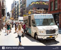 Gourmet Food Truck, NYC Stock Photo: 49749737 - Alamy