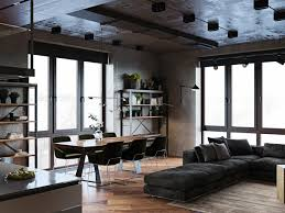 100 Modern Industrial House Plans Luxury Apartment With An Vibe And A Cool Hallway
