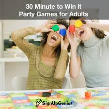 30 Minute To Win It Party Games For Adults Try These Games As A Fun