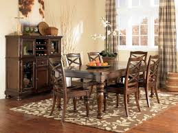Ture Area Rug Under Dining Table Unique Decorations Captivating Room
