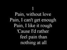 Three Days Grace Pain Music I Love Pinterest