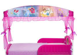 Minnie Mouse Canopy Toddler Bed by Amazon Com Delta Children Canopy Toddler Bed Disney Princess Baby