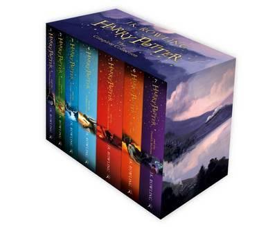 Harry Potter: The Complete Book Collection - J. K. Rowling
