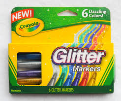 Crayola Bathtub Crayons Collection by 6 Count Crayola Glitter Markers What U0027s Inside The Box Jenny U0027s
