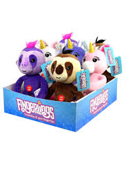 Wholesale Fingerlings 10 Inch Unicorn And Sloth Plush Assortment In 12pc Counter Display