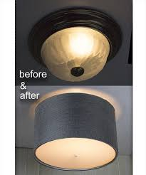 18 inch moderne flush mount kit gray ceiling light cover grey