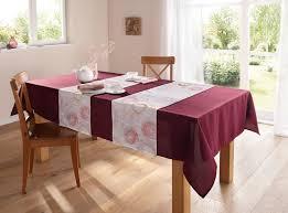 tischdecke bordeaux groß textil deko wohnzimmer esszimmer terrasse garten outlet trends