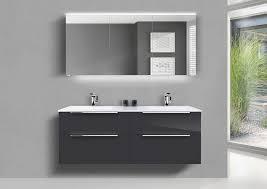 made living badmöbel set doppelwaschtisch 150 cm badmöbel nizza mit 4 auszü und led spiegelschrank set 3 tlg kaufen otto