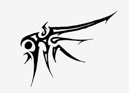Tribal Wing Tattoo By Logical Primate