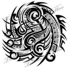 SBink Tribal Tattoo Half Sleeve