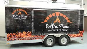 Food Truck / Trailer Full Wrap For Rolling Stone Wood Fire Pizza ... The Best Food Trucks To Have At Your Wedding Unveiled By Zola Nyc Where Today Toronto Food Truck Archives Hard Times Farragut Truck Fridays La Gastronomia Roja Incporating Into Private Party Catering Bip 2012 Wikipedia Join The Association Memphis Truckers Alliance Speedway Prestige Custom Manufacturer Lunch Trucks On Lakeview Caribbean Gardens Tampa Consultants Restaurant 2 New Trucks Bring Crab Cakes Lobster Rolls To Charlotte