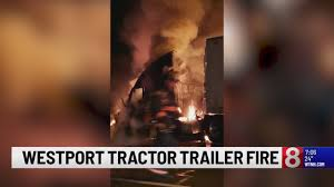 100 Truck Stop On I 95 Catches Fire Due To Mechanical Issue On Nterstate
