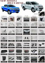Exterior Accessories Chrome Body Trim For Hilux Revo 2015, Chrome ... Are Truck Bed Lighting For Those Who Work From Dawn To Dusk 2018 Frontier Accsories Nissan Usa Top 25 Bolton Airaid Air Filters Truckin Ultimate Car Alburque Nm Dodge Truck Accsories 2016 2015 Chrome Mr Kustom Auto And Customizing Advantage 20217 Rzatop Trifold Tonneau Cover And At Tintmastemotsportscom Best Campers Bed Liners Covers In San Antonio Tx Jesse 8 Of The Ford F150 Upgrades Western Star Shop Discount Parts Parts