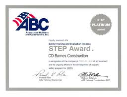 CD Barnes Construction To Receive Prestigious Diamond STEP Award ... Barnes Cstruction On Twitter New Project New Sports Hall Kingston Recruitment Overview Youtube Ashlea Lanier Cd Company Grand Rapids Michigan The Begnings Of A Marstonspubs Bbarnes Services Tobias Donohoe Hires Several Team Members Drone Video Archives Creative Studios Our Walter J Electric Suffolk Show Thank You To Ipswichhedgehogs