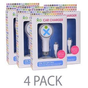 Xo Universal Car Charger - White