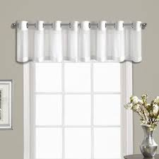 Crushed Voile Curtains Grommet by Best 25 Modern Valances Ideas On Pinterest Modern Roman Shades