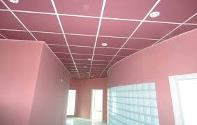 dalle faux plafond pvc isolation idées