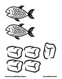 Ingenious Inspiration Five Loaves And Two Fishes Coloring Page 18 79 Best Jesus Feeds 5000 Images On Pinterest