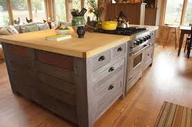 Image Of DIY Pallet Kitchen Island Instructions Ideas