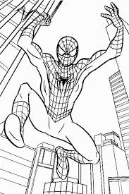 Spiderman Coloring Pages Kids Is More Ideal For Your Elder These
