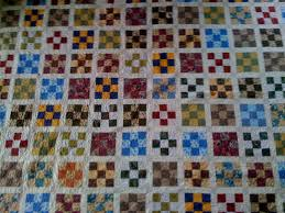 Ugly Fabric Awesome Nine Patch Quilt