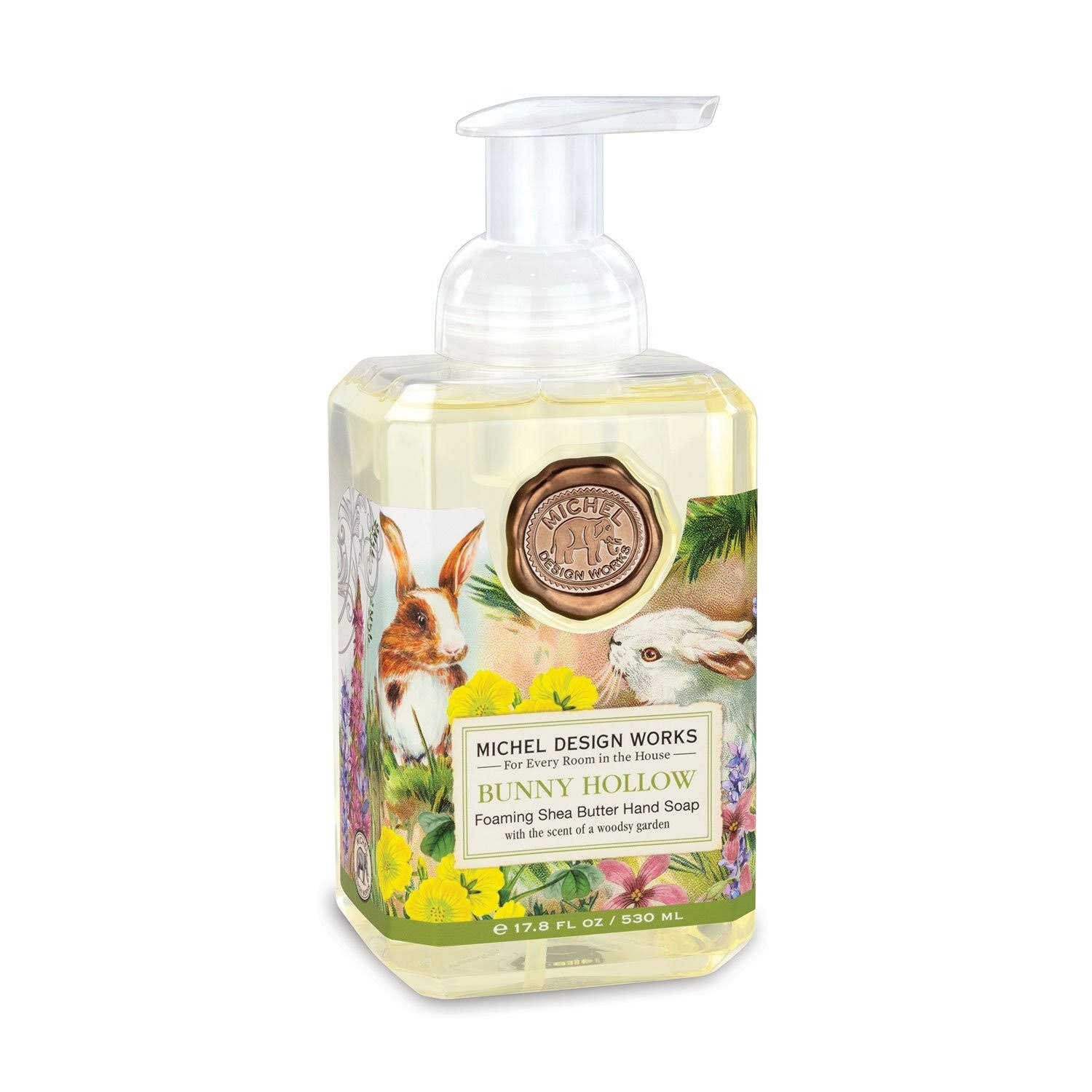 Michel Design Works Bunny Hollow Foaming Hand Soap | zillymonkey