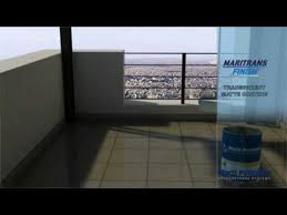 balcony tile waterproofing application maritrans tile primer