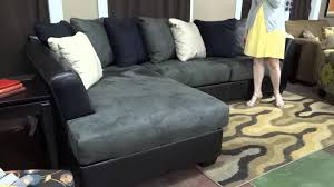 Hodan Sofa Chaise Dimensions by Ashley Signature Design Masoli Sectional 142 Review Youtube