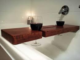 diy bathtub caddy with reading rack best 25 bathtub wine glass holder ideas on bath wine