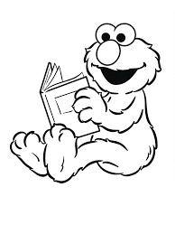 Elmo S Coloring Pages