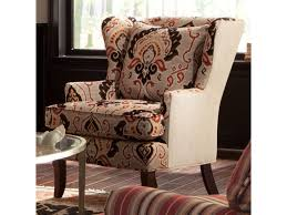 Craftmaster Sofa In Emotion Beige by Craftmaster Accent Chairs Traditional Upholstered Wing Chair With